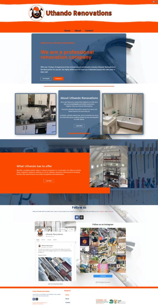 Uthando Renovations by Studio Snark